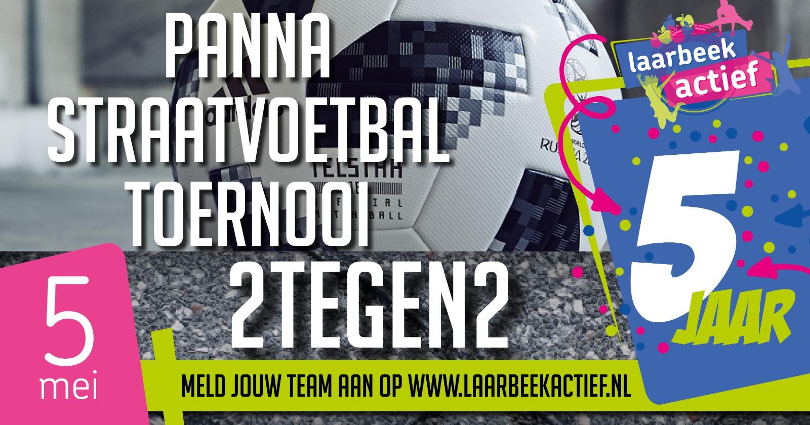 Panna-Straatvoetbal 2 vs 2 toernooi