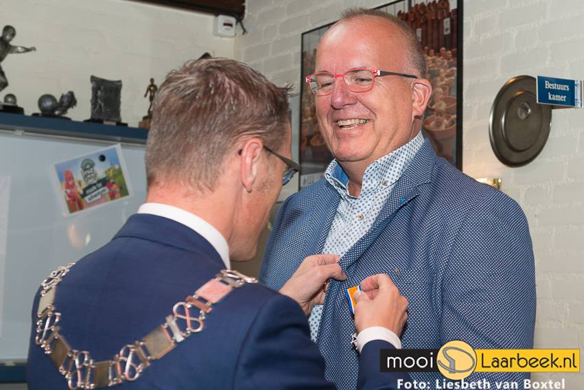 Nick Scheltens Lid in de Orde van Oranje Nassau