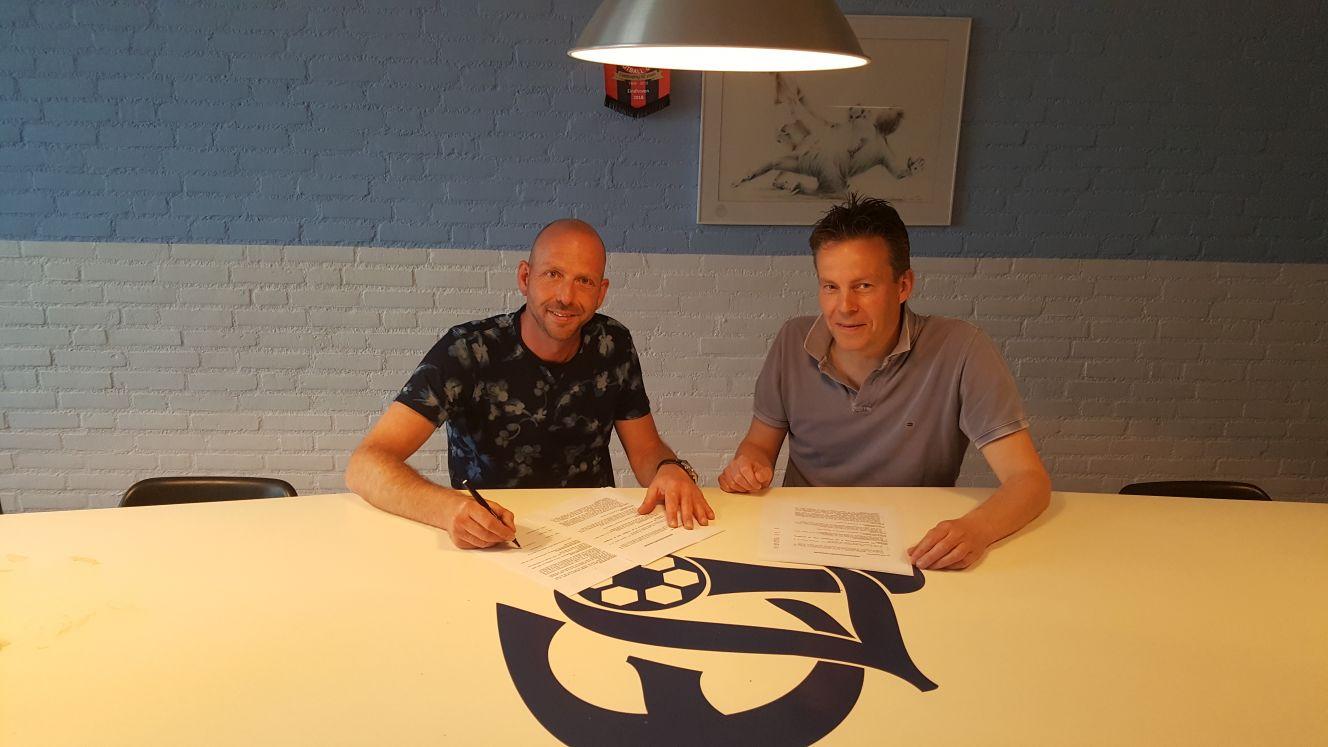 Contract hoofdtrainer Michael Thijs weer met seizoen verlengd