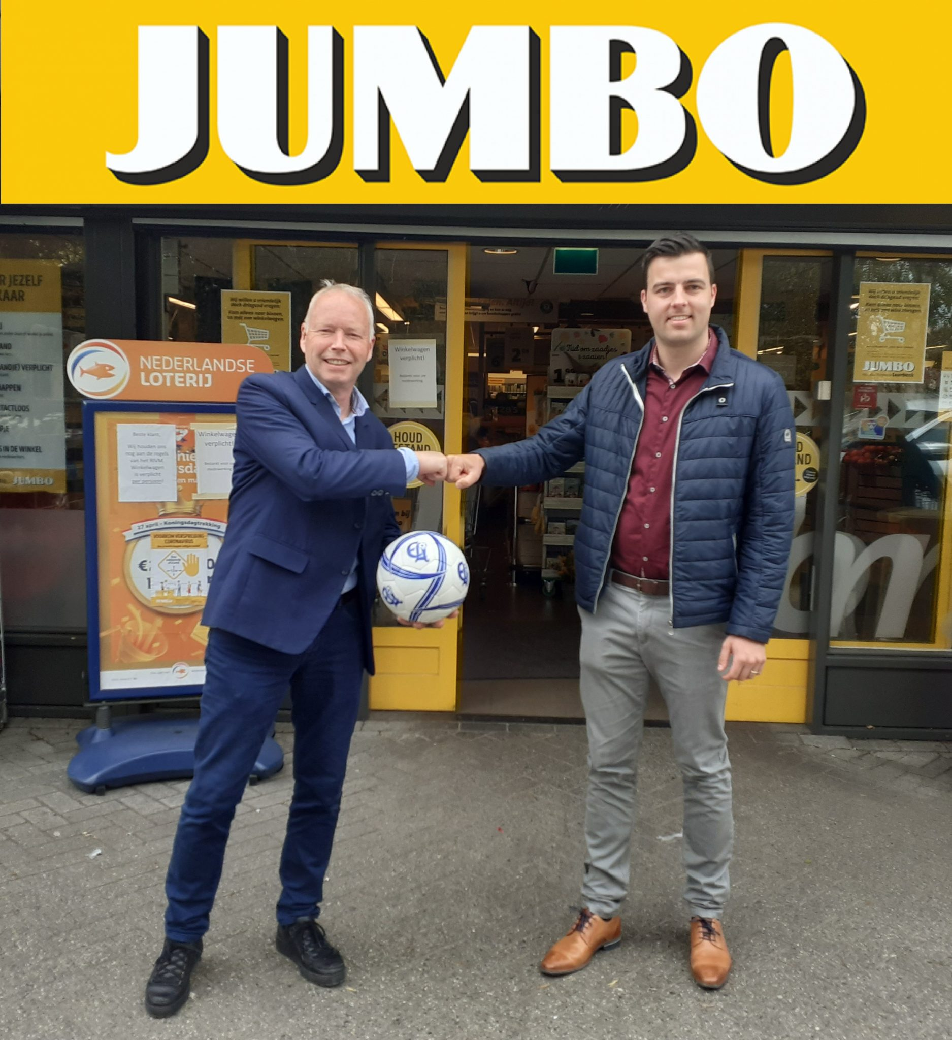 Contract met Partnersponsor Jumbo Laarbeek weer verlengd!